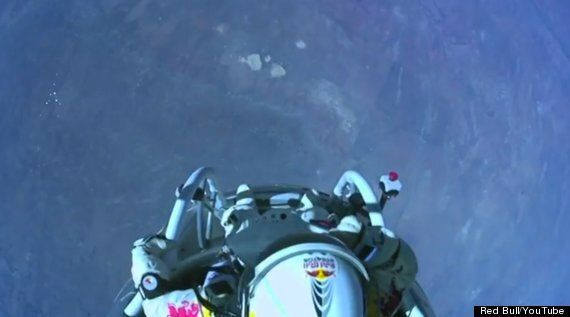 What Felix Saw: Red Bull Stratos Body Camera Video