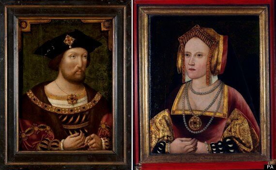 Henry VIII And Catherine Of Aragon Reunited At National Portrait