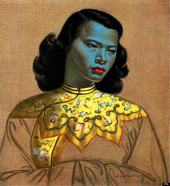 Vladimir Tretchikoff's Famous Print 'Chinese Girl' Up For
