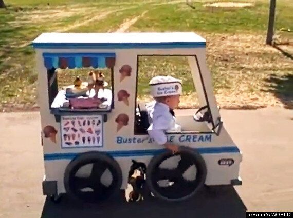 Halloween 2012: Little Boy's Wheelchair Is Transformed Into a Digger (And More Ingenious Costumes For...