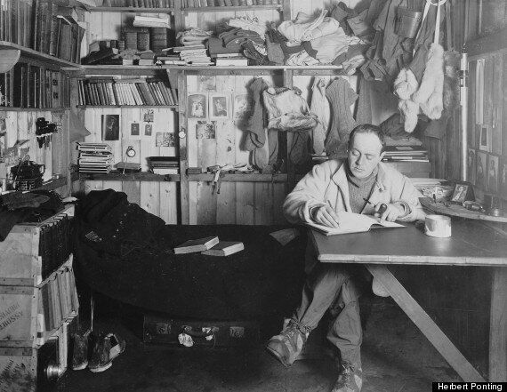 Captain Scott's Lost Photos From South Pole Expedition