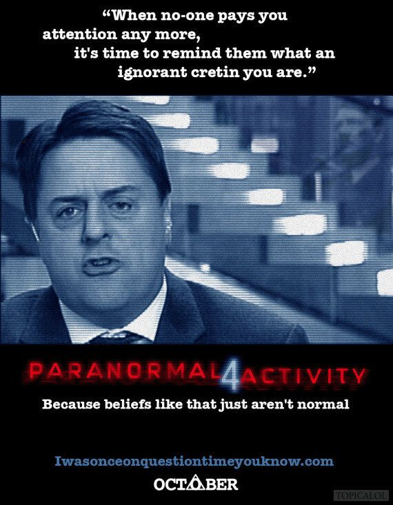 Nick Griffin In 'Paranormal Activity