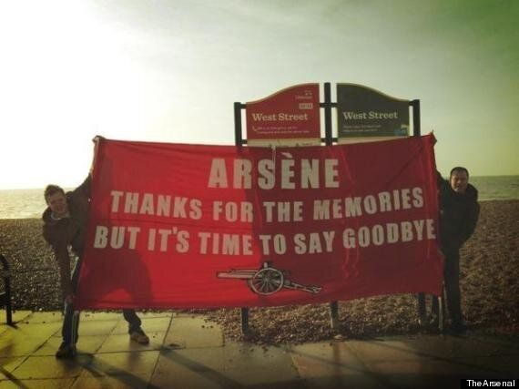 Arsenal Banner 'Causes Punch-Up' Between Fans