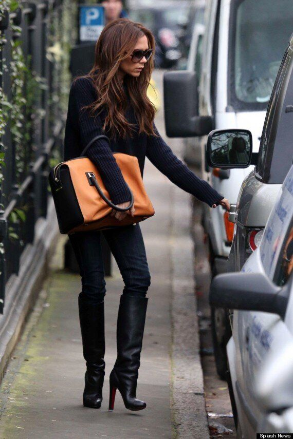 Victoria Beckham Keeps It Casually Stylish As She Runs Errands In London