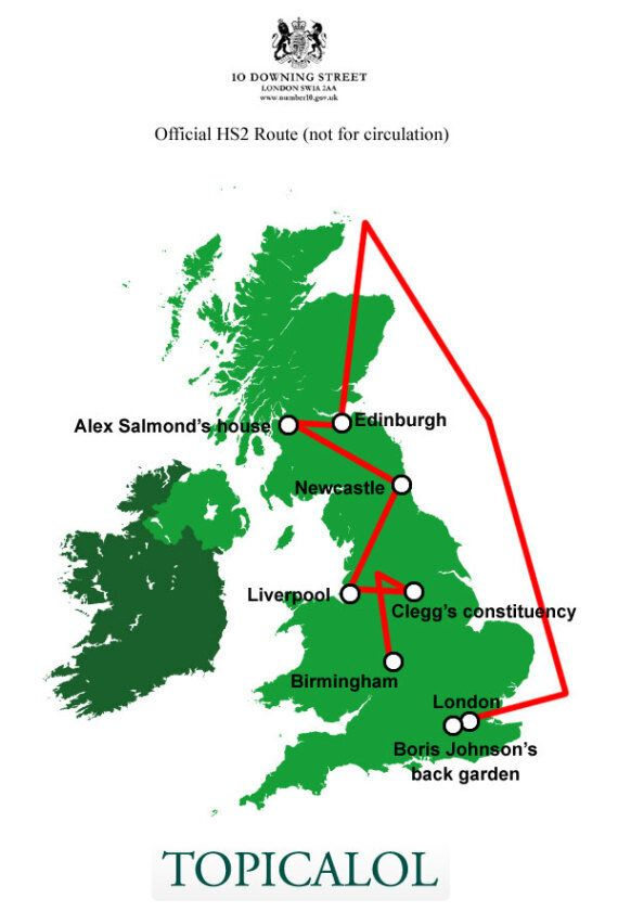 HS2 High-Speed Rail Link: See The Full Route