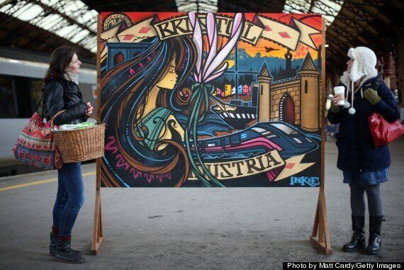 Street Artist Inkie Hired To Brighten Up Entrance To