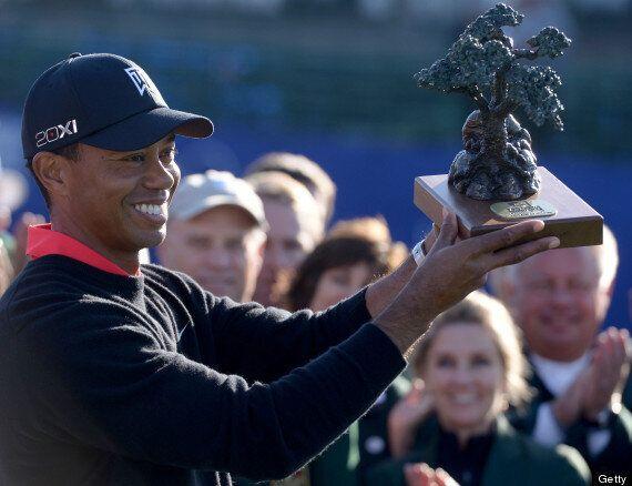 Tiger Woods Wins 75th PGA Tour Title At Torrey Pines