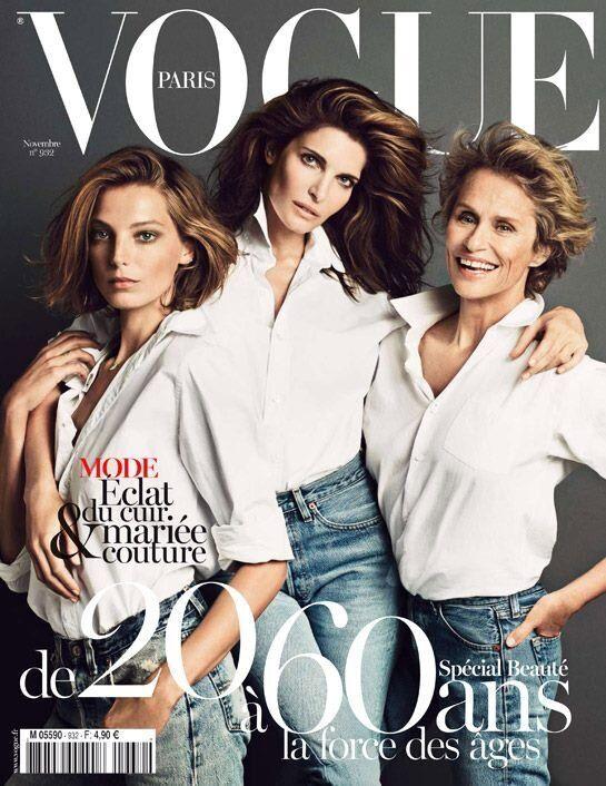 Vogue Paris November: Beauty and