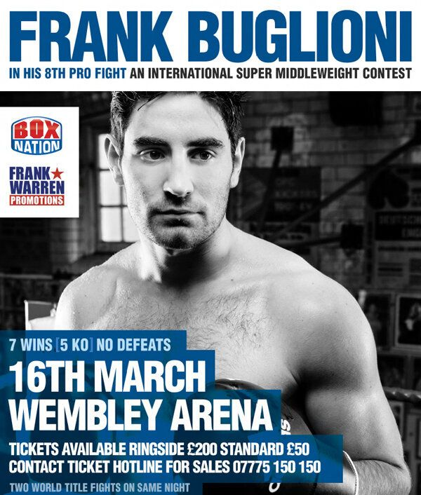 Exclusive: Frank Buglioni, a Rising Star in the Boxing
