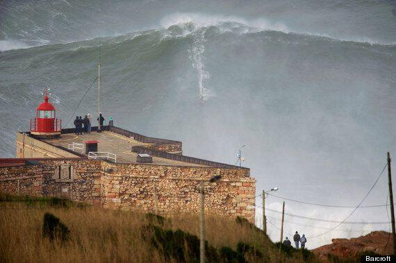 Garrett McNamara Rides 100ft Wave, Breaks 'Own World Record' (VIDEO,