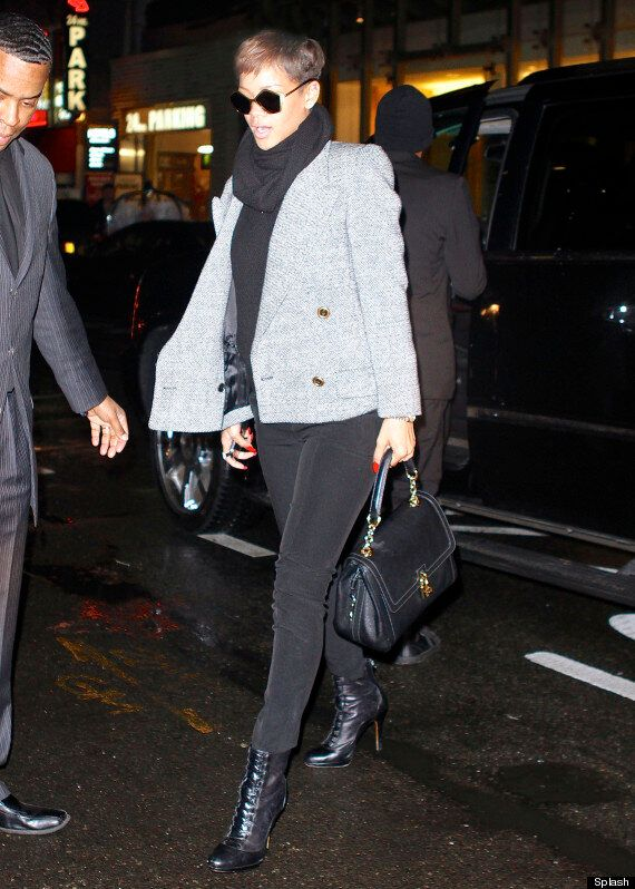 Rihanna Looks Fly (Literally) As She Steps Out In A Pair Of Buzz-Worthy Shades