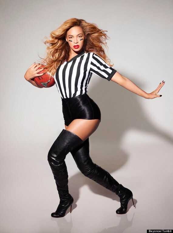 Beyoncé Super Bowl: Singer Dons Sexy Referee Outfit Ahead Of Half-Time Show Performance