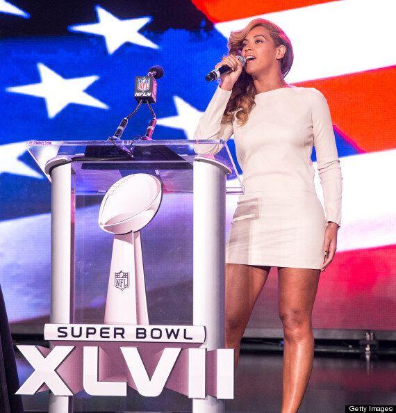 Beyoncé Silences Lip-Sync Critics At Super Bowl Press Conference With Live National Anthem Performance