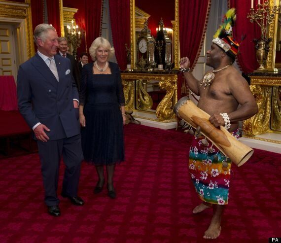 Kylie Minogue Dazzles Prince Of Wales And Duchess Of Cornwall In Surprise