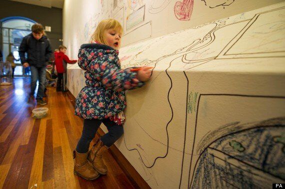 York Art Gallery Invites Visitors To Paint Their Own