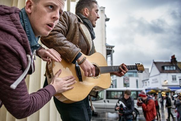 The Charity Busk: