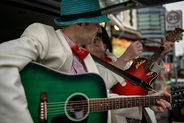 The Charity Busk: The Orange Circus