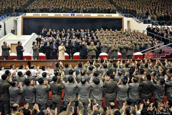 North Korea, Kim Jong Un And Wife Ri Sol Ju Mark 60th Anniversary Of Kim II Sung Military University...