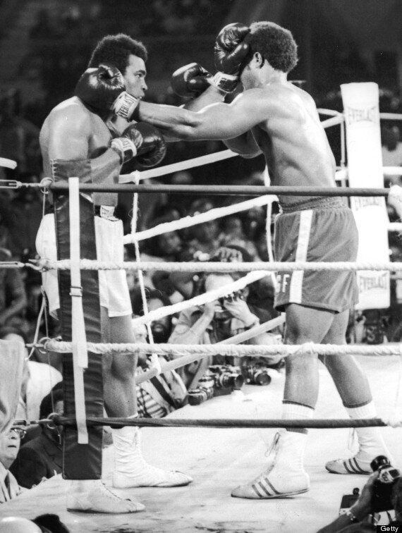 Muhammad Ali Vs George Foreman In The Rumble in the Jungle