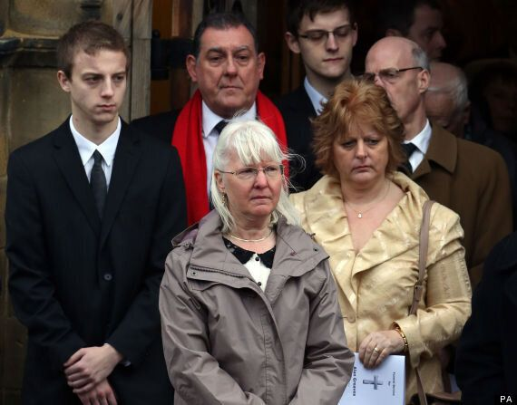 Widow Pays Emotional Tribute To 'Beautiful Man' Alan Greaves At Funeral
