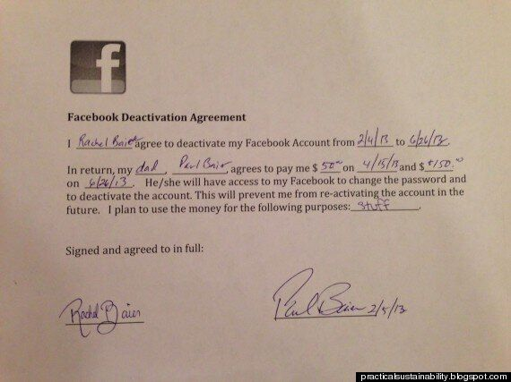 Father Pays Daughter $200 To Quit Facebook: See Their