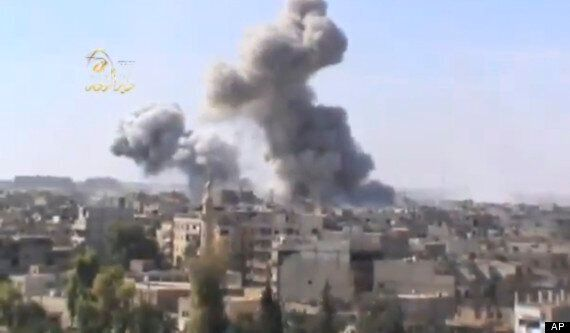 Syria Civil War: Assad's Jets Bomb Damascus For First Time As Death Toll Hits