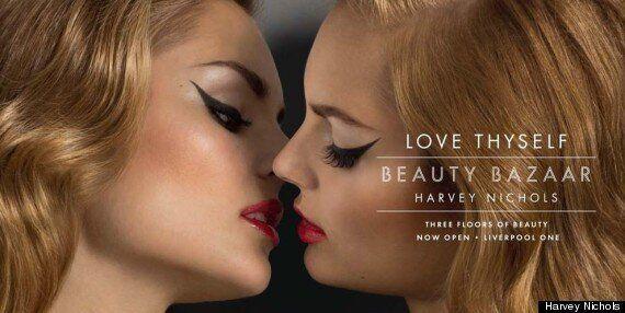 Harvey Nichols Beauty Bazaar Advert Is Basically A Big Sexy Model Snog
