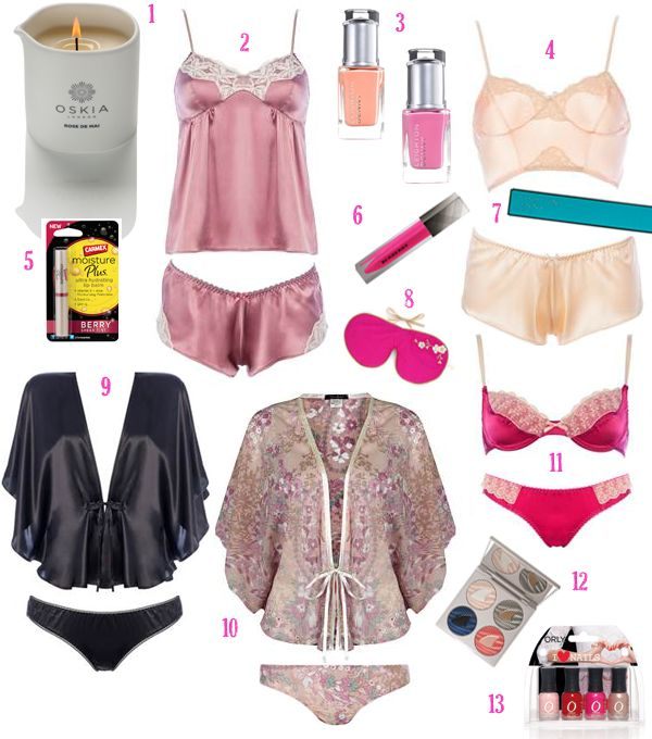 Weekend Shopping: Valentine's Day Lingerie and Beauty