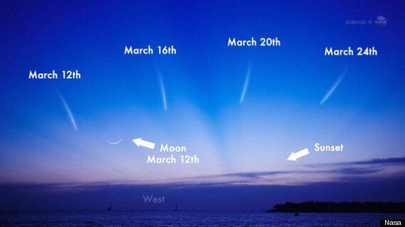 Comet Pan STARRS To Light Up The Sky In March, Astronomers