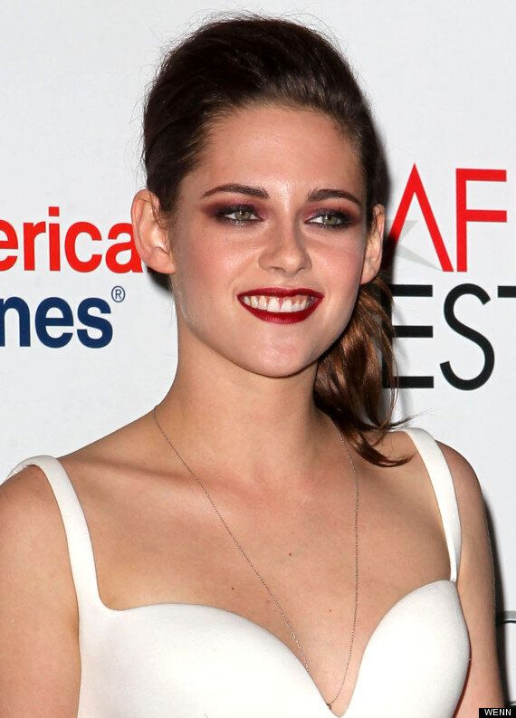 Kristen Stewart Is All Smiles At 'On The Road' Premiere Following Robert Pattinson Reunion