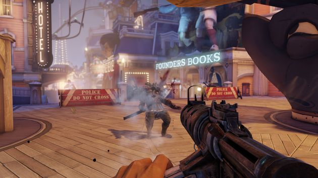 My Preview of BioShock Infinite from 2K