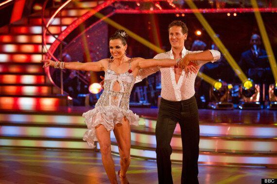 STRICTLY COME DANCING: Victoria Pendleton Enlists Brendan Cole To Help With Wedding