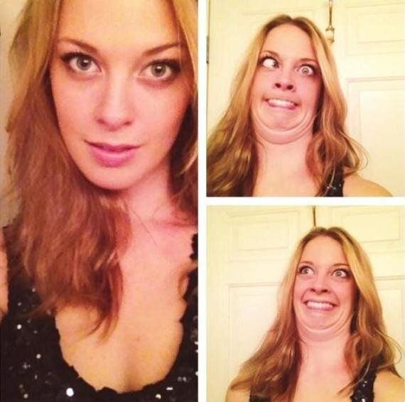 Pretty Girls Pulling Ugly Faces