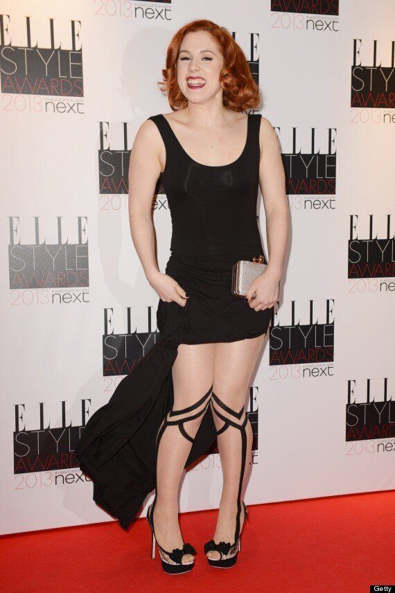 Elle Style Awards 2013: And The Award For Most Bizarre Legwear Goes To... Katy B