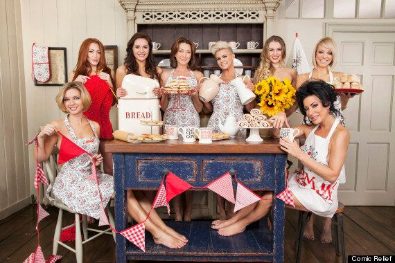 Stars Strip Off For Comic Relief