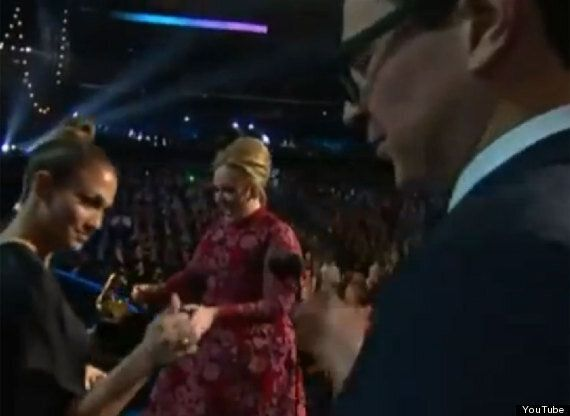 Grammys 2013: Adele's Stage Invader Arrested And Charged With Trespass