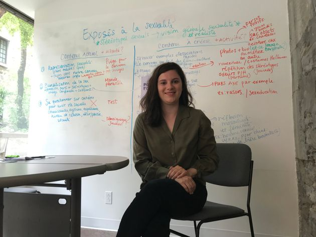Myriam Day Asselin est sexologue et coordonnatrice au développement des contenus chez