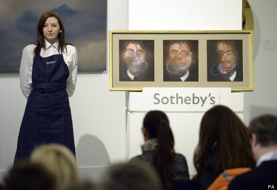 Sotheby's Art Auction Raises £74m Selling Andy Warhol, Mark Rothko And Francis Bacon