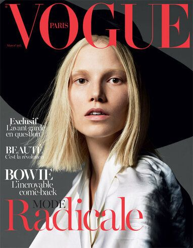 Suvi Koponen Covers Vogue Paris March