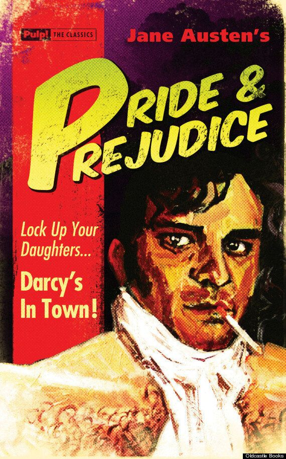 The Great Gatsby, Pride And Prejudice And Other Classics Given Pulp-Style