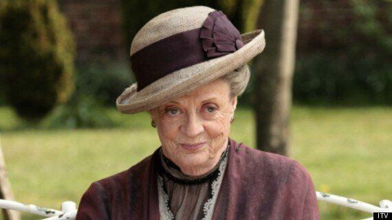 DOWNTON ABBEY: Dame Maggie Smith Who Plays The Countess Dowager Admits Never Watching A Single