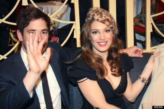 Kelly Brook Enjoys Valentine's Date With Danny Cipriani