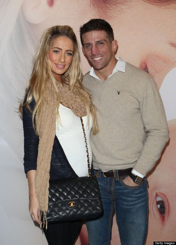 Chantelle Houghton Hits Out At Alex Reid After He Calls Their Daughter His
