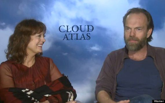EXCLUSIVE CLIP: Hugo Weaving Makes Susan Sarandon Giggle During Discussion Of 'Cloud