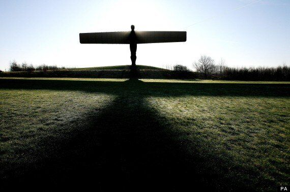 15th Anniversary Of Antony Gormley's Angel Of The North Celebrated With
