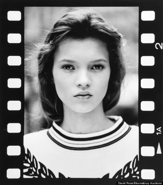 First Fashion Photographs Of Kate Moss, Aged 14, To Be Sold At