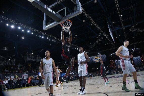 Usain Bolt Plays In NBA All-Star Celebrity Match