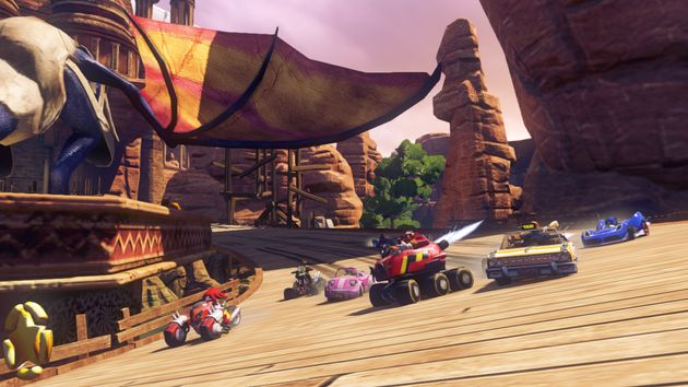 Preview of Sonic and the All-Stars Transformed on the Wii