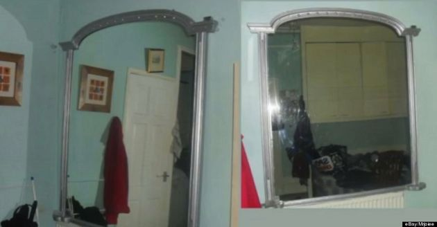Haunted Mirror Sells On Ebay For