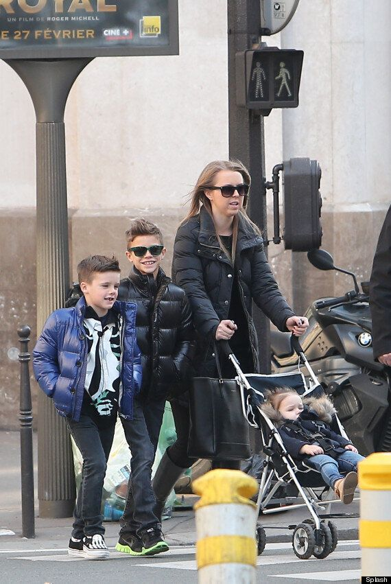 Romeo Beckham Is One Cool (Mini) Dude As He Strolls With Siblings In Paris